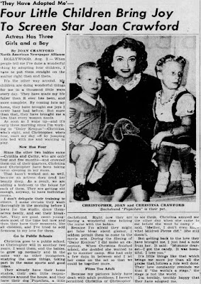 Joan Crawford Christina Crawford Article