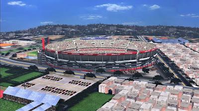 PES 2017 Stadium La Bombanera & El Monumental with Exterior View