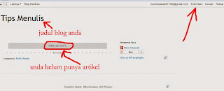 tutorial membuat blog di blogspot