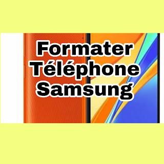Comment formater un téléphone Samsung bloqué ? Réinitialiser Android bloqué