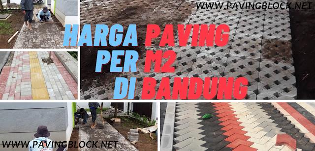 Berapa Harga Paving Per M2 Dan Penjual Paving Terdekat di Bandung