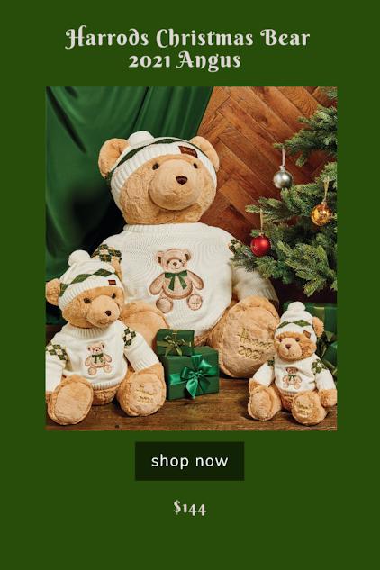 Harrods 2021 Christmas Bear