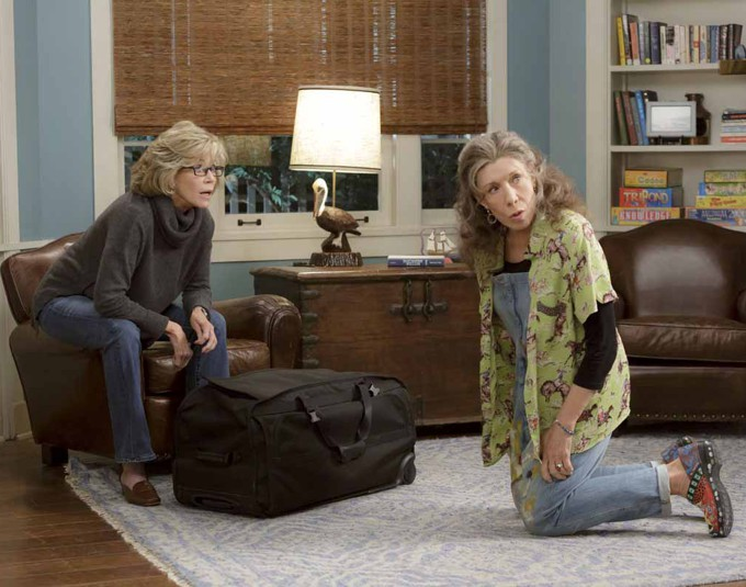 Grace e Frankie série da Netflix