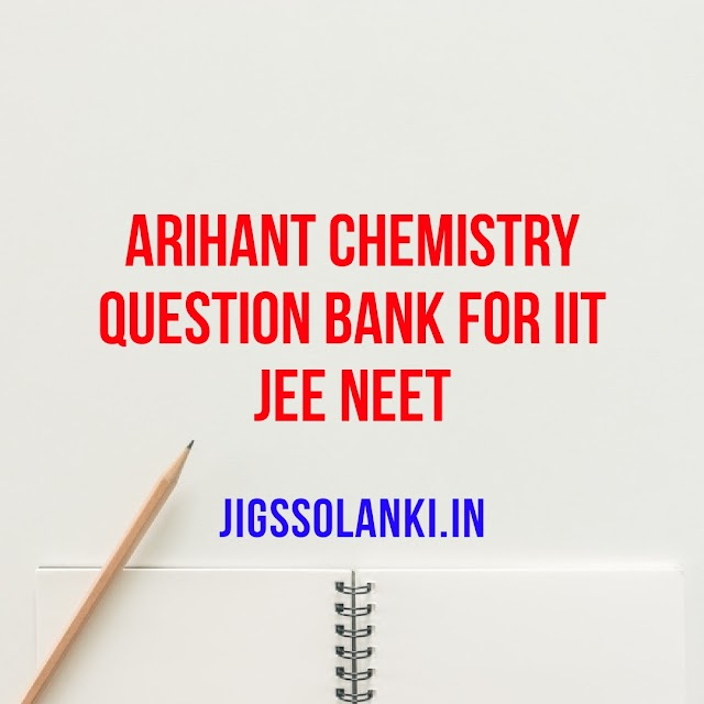 CHEMISTRY QUESTION BANK 2019-20 (AS PER NEW SYLLABUS)