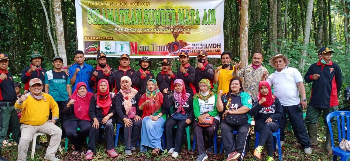 ERCI Jember Raya Chapter Turut Hijaukan Desa Papringan