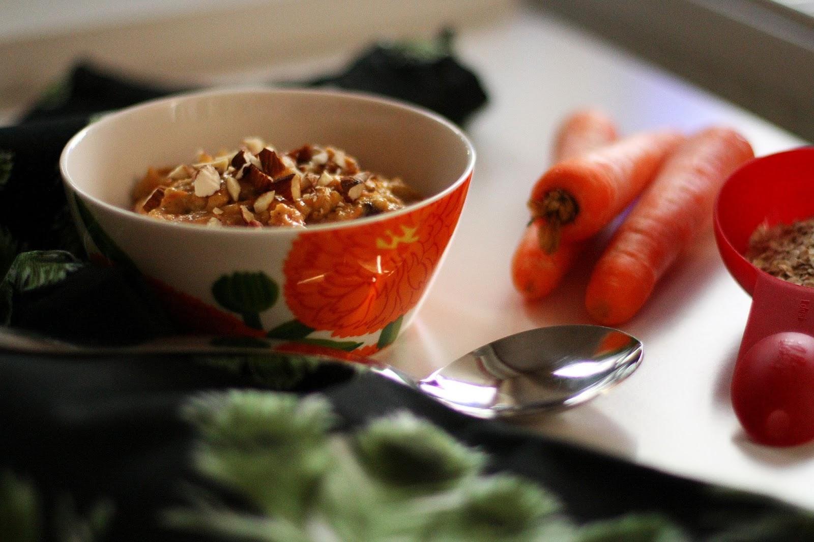 porkkanakakkupuuro porkkana puuro mallaspulla aamiainen