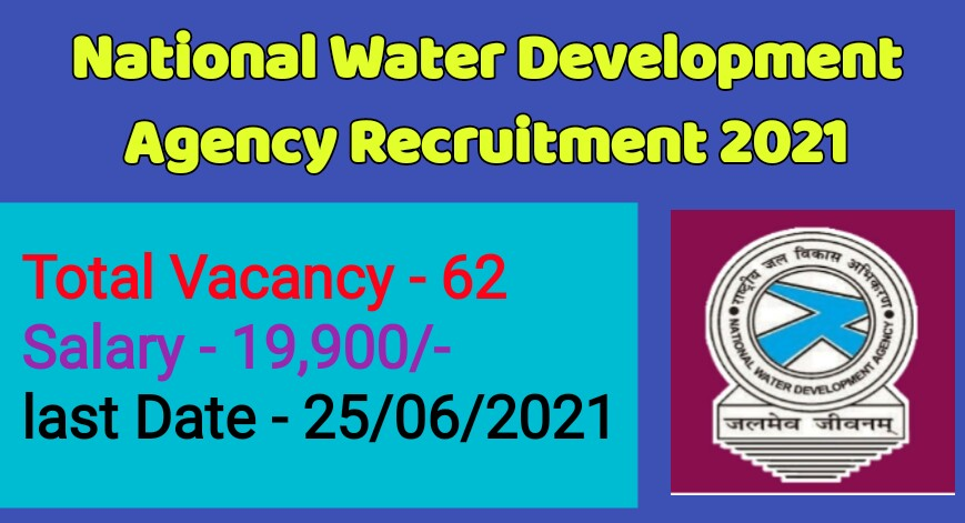 NWDA Recruitment 2021   Apply Online for 63 Posts on @nwda.gov.in
