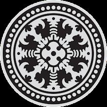 lambang universitas udayana (unud) BW