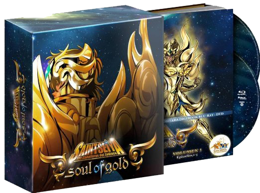 Saint Seiya Collectors Edition Blu Ray