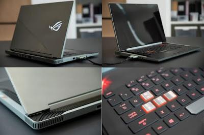 ROG Face Off Laptop Gaming Masa Depan