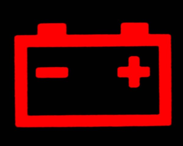 Charging System Warning Light Symbols