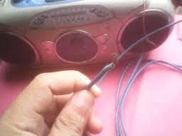 Cara membuat antena penguat sinyal radio dengan satu kabel dan paku mudah dan simpel