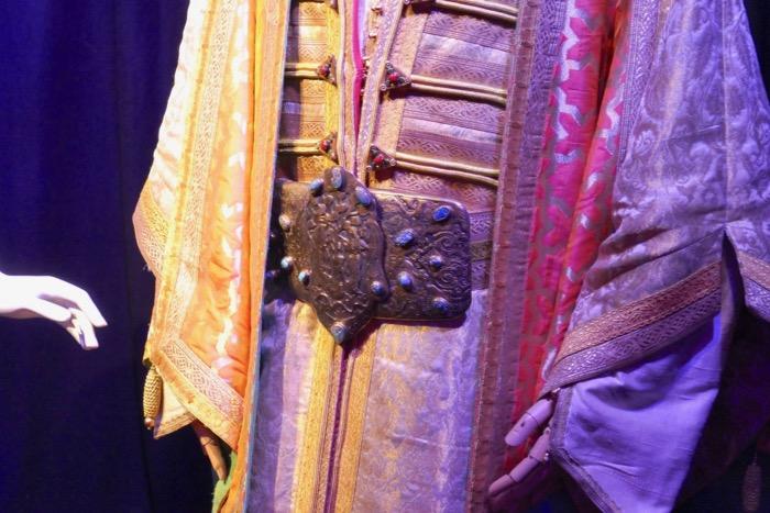 Sultan costume belt detail Aladdin
