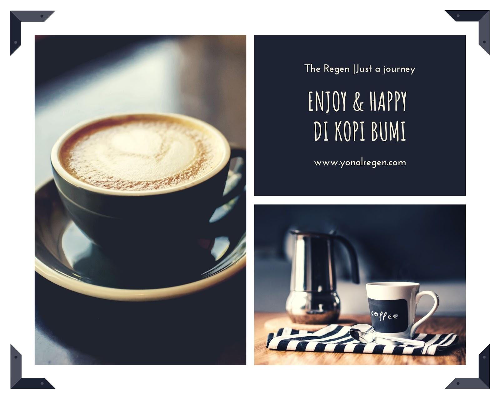 enjoy & happy di kopi bumi Sukabumi