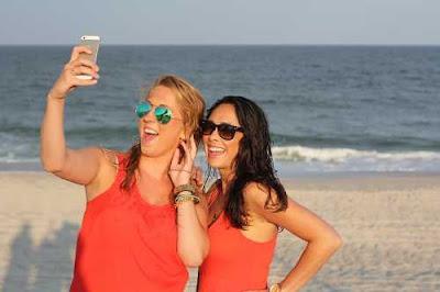 amiche selfie
