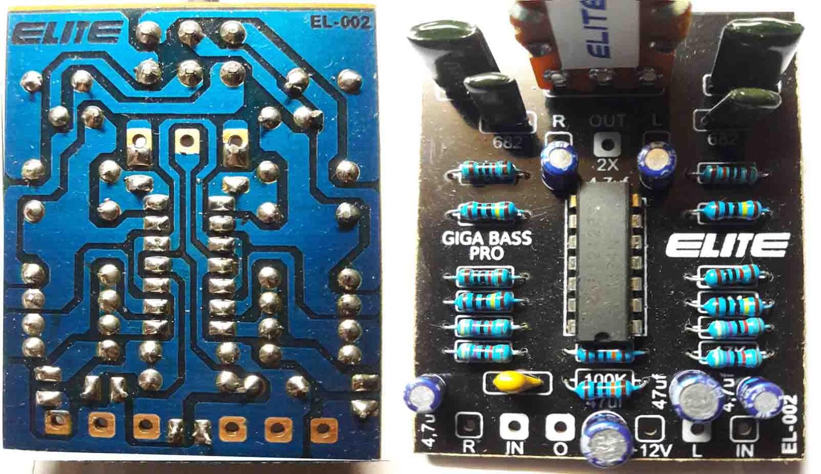 Lm324 Giga Bass Pro Circuit Electronics T Circuits Turbo Booster