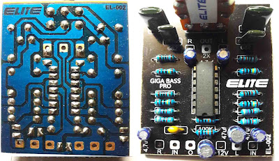 PCB Giga Bass Pro Circuit
