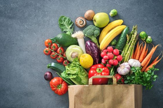 thực phẩm giảm cân tự nhiên bằn rau củ quả