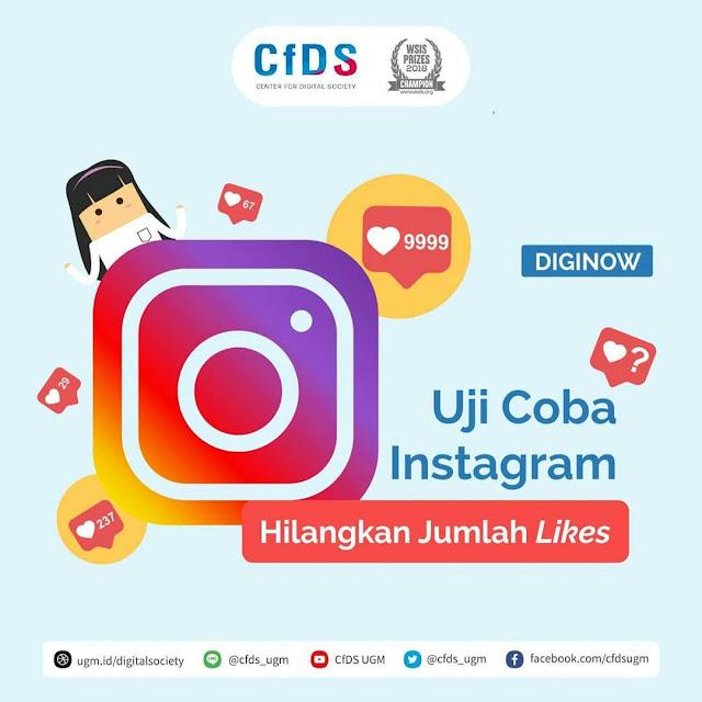 Uji Coba Instagram Hilangkan Jumlah Likes