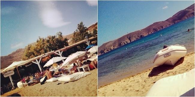 Panormos beach Mykonos island