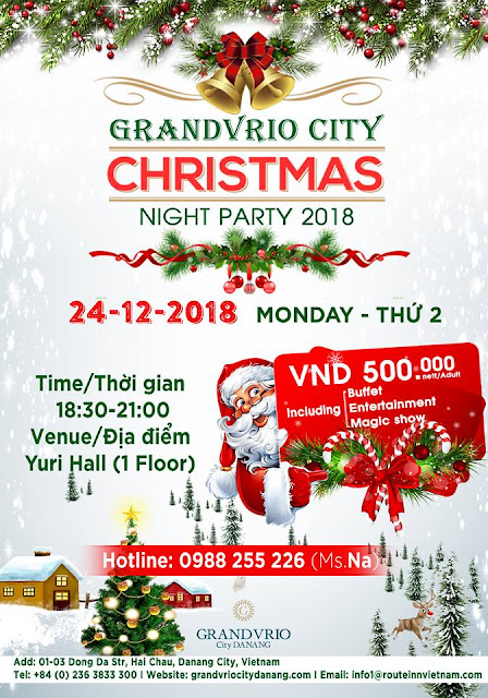 CHRISTMAS NIGHT PARTY - GRANDVRIO CITY HOTEL DA NANG