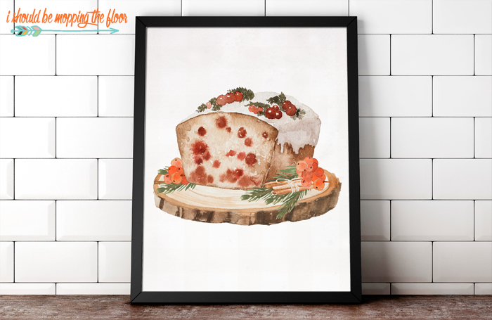 Fruit Cake Printables