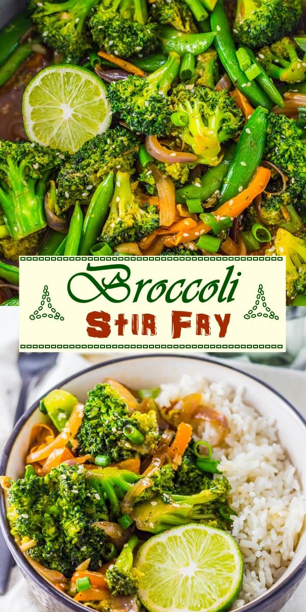 Broccoli Stir Fry Recipe #vegetarianrecipes