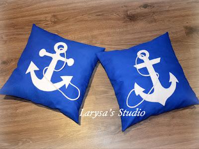 подушки морская тематика