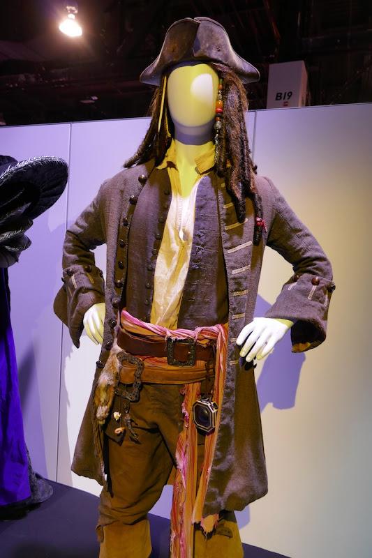 Captain Sparrow costume Pirates of Caribbean