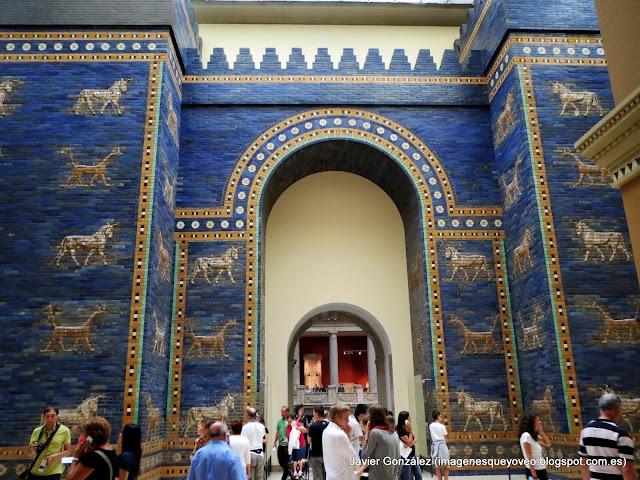 Puerta de Ishtar de Babilonia - Museo Pergamo - Berlin