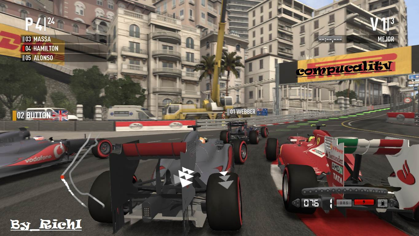 Capturas Propias F1 2011 PC By Richi