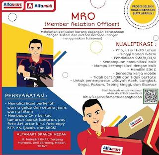 Lowongan Kerja Medan SMA SMK D3 S1 Alfarmart September 2020