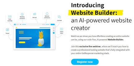 κατασκευή site με το website builder