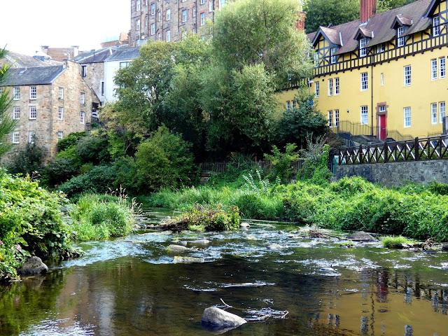 Dean Village, Edinburgh, Scotland - Sincerely Loree