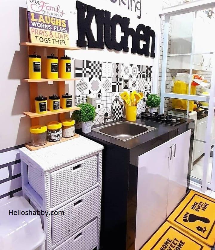 Contoh Dapur Minimalis Sederhana Tanpa Kitchen Set Yang Rapi Helloshabby Com Interior And Exterior Solutions