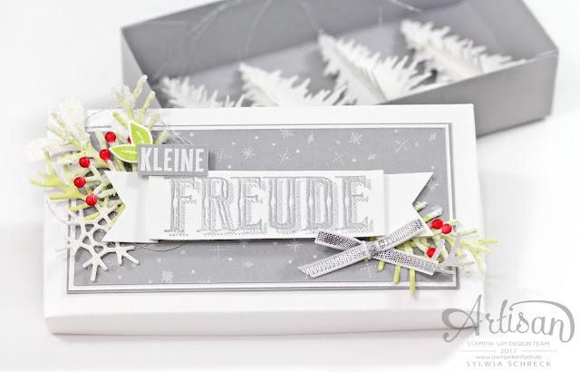 Weihnachtsbäume in der Box-Stampin Up-Wie ein Weihnachtslied