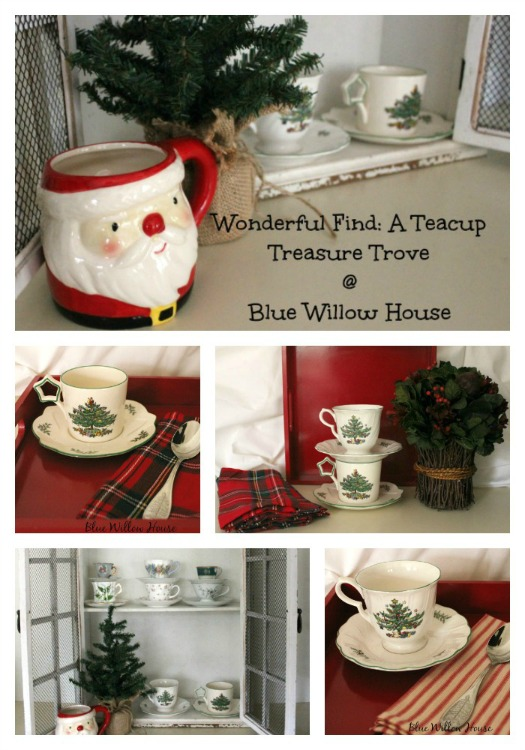 Vintage Charm Party #6 mythriftstoreaddiction.blogspot.com Feature: Blue Willow House