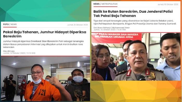 Tuai Protes! Tokoh KAMI Diborgol tapi 2 Jenderal Tersangka Suap Djoko Tjandra Tidak