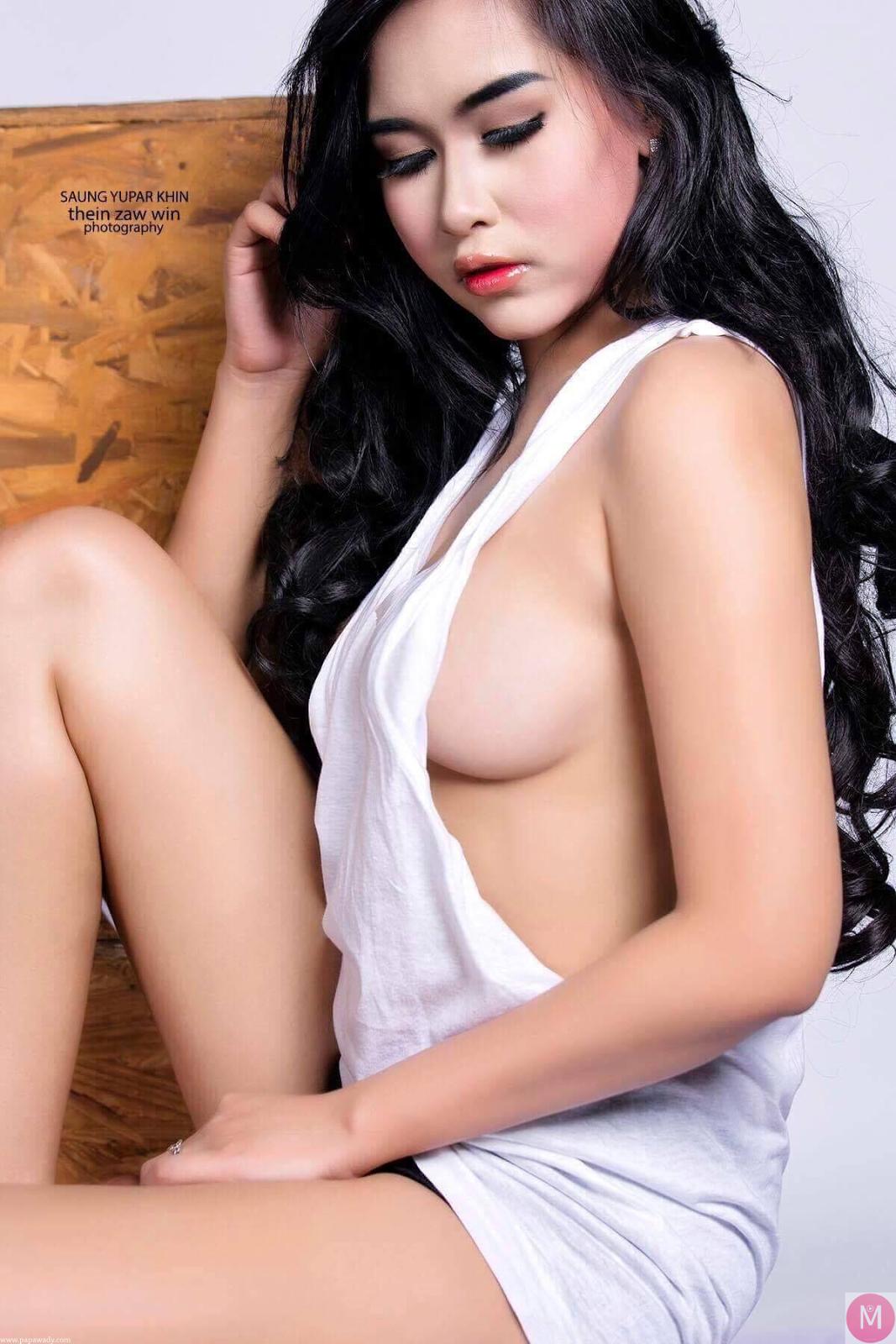 Saung Yu Par Khin Flan Flan Studio Photoshoot