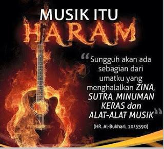 Musik haram - berbagaireviews.com