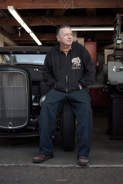 LOWTECH | traditional hot rods and customs : chad's machine shop