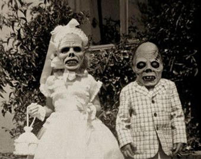 maschere horror