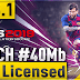 [ V3.3.1 ] 40Mb | LICENSED ALL TEAM | MINIMUM PATCH FOR PES 2019 MOBILE