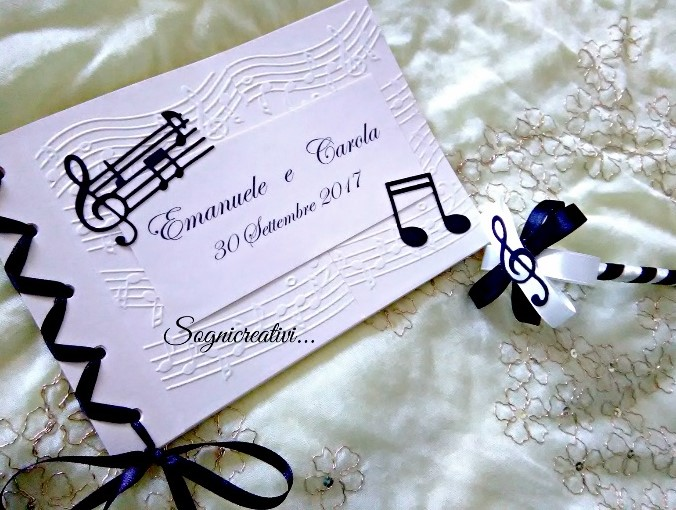 Ben noto Partecipazioni Sognicreativi Wedding and Events: Guestbook YW34
