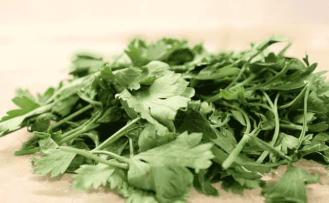 Benefits of Parsley Fallen leave and Parsley Fallen leave Content