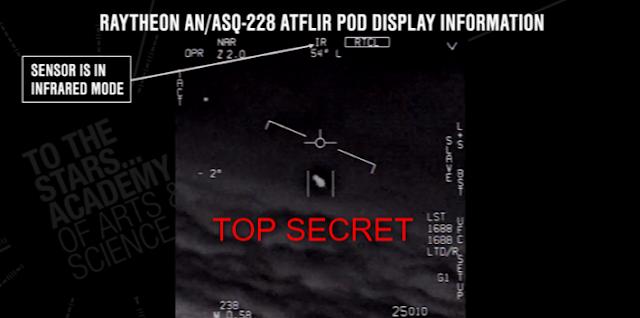 Top Secret UFO video released.