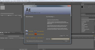tutorial adobe after effect cs4 membuka after effect cs4