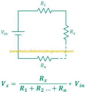 general-voltage-divider-formula