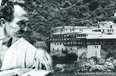 Καζαντζάκης στα τρομερά Καρούλια του Αγίου Όρους το 1914