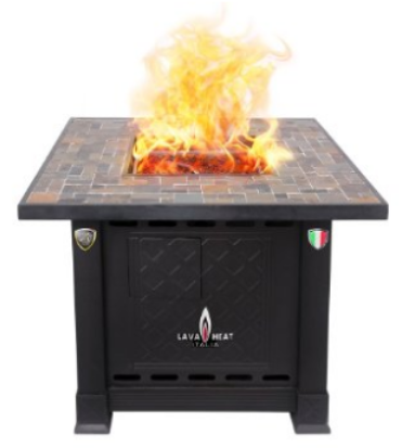 Volterra Fire Pit Table Natural Gas, 30000 BTU, Gas Patio Heaters, Outdoor Electric Heaters, Outdoor Furniture, Outdoor Gas Heaters, Outdoor Patio Heaters, Outdoor Radiant Heaters, Patio Heaters, Patio Heating,